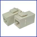 Cat 6 Coupler (Snap-in)