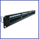 24 Port Comlink Cat 5e Patch Panel