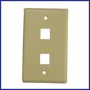 2 Port Wallplate