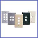 Quickport Wallplates - Single Gang