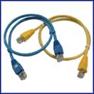 Custom Cat 5E Patch Cord - Booted