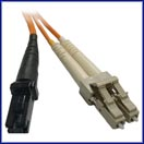 LC-MTRJ  Multimode Duplex Fiber Jumper Cable 50/125