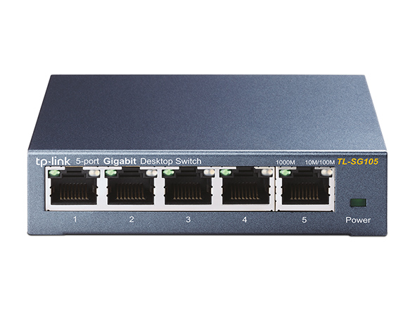 5-Port 10 / 100Mbps Desktop Switch