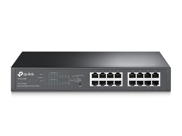 JetStream™ 24-Port Gigabit L2 Managed PoE Switch with 4 Combo SFP Slots