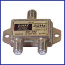 2-Way 2.4GHz 90dB Satellite-Splitter DC Passing
