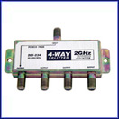 4-Way 2.4GHz 90dB Satellite-Splitter