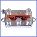 4-Way 1GHz 130dB F-Splitter