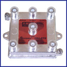 6-Way 1GHz 130dB F-Splitter