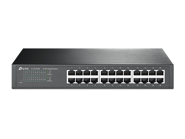 24-Port Gigabit Desktop/Rackmount Switch