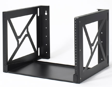 "8U Wall Mount Rack 18"" Depth"