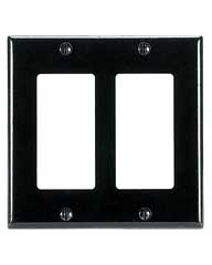 Decora Style Dual Gang Wallplate