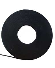 75 Ft. Velcro Cable Tie Wrap Roll  - Black