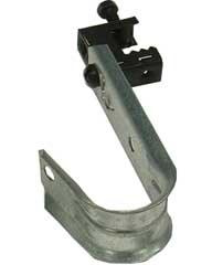 "1-5/16"" J-Hook w/ Beam Clamp"