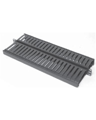 "Double Sided Horizontal Cable Manager for Standard 19"" Rack"