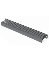 "Single Sided Horizontal Cable Manager for Standard 19"" Rack"
