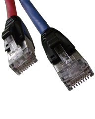 Custom Cat 6A 10G Shielded Patch Cord