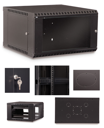 6U Fixed Wall Mount Cabinet