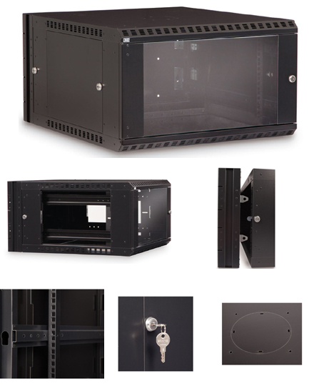 6U Swing-Out Wall Mount Cabinet