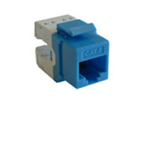 Cat 5e & 6 Keystone Jacks, Couplers & Inserts