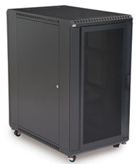 22U Vented Front/Vented Rear Cabinet