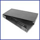 Multilink 1U 2 Panel Rack Mount Enclosure