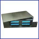 Multilink 48 Port Rack Mount Loaded w/ 48 LC Couplers