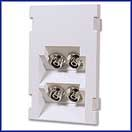 3 Unit High Duplex FC Ceramic 45 Degree Coupler