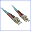 10 GIGABIT (GIG) Custom Multimode Fiber Jumper Cables LCLC