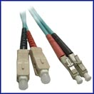 10 GIGABIT (GIG) Custom Multimode Fiber Jumper Cables LCSC