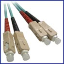 10 GIGABIT (GIG) Custom Multimode Fiber Jumper Cables SCSC