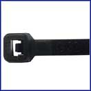 "11"" Cable Tie Black UV  - 100 Pack"
