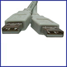 USB v2.0 Serial Data Cable AM-AM 3'