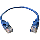 1' Cat 5e Stock Patch Cord