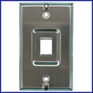 Stainless Steel VOIP Wallplate