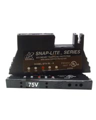 75 VRMS Snap Lite 66 Block 1 Pair Protection